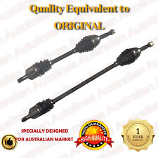 1 Pair Brand New Hyundai Excel X3 CV Joint Drive Shafts 10/94-6/00