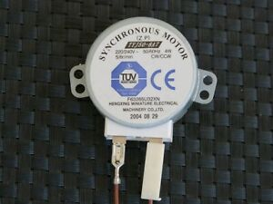 Microwave motor, AC 220/240V 50/60Hz 4W