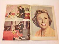 My Man Godfrey June Allyson David Niven Vtg 1957 Danish Movie Magazine Program