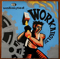 """2 Unlimited – Workaholic 7"""" – PWL 228 – VG"""