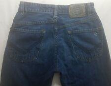 VOLCOM BLACKHART Womens Denim Blue Jeans Size 28 x 30 Straight Leg Dark Wash