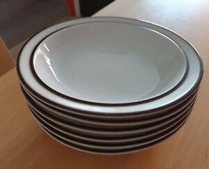 Thomas Scandic Shadow 6 tiefe Teller Suppenteller 19 cm sehr guter Zustand!