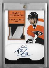 2011-12 Dominion Black #166 Harry Zolnierczyk JSY AU 1/1