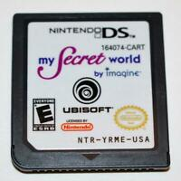 MY SECRET WORLD NINTENDO DS GAME 3DS 2DS LITE DSI XL