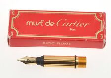 cartier original B size nib for vintage Pasha fountain pens NEW IN BOX