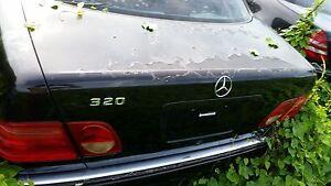 Mercedes W210 E Class E320 E430 E300TD E55 AMG 98-02 TRUNK LID LIFT GATE BLACK