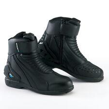 Botas Motocicleta Impermeables Spada Icono Corto Negro Talla 43/9