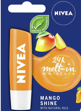 Nivea Lip Balm Care Mango Shine Long-Lasting 4.8g Lippenbalsam