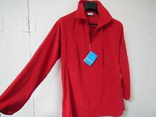 COLUMBIA Glacial Fleece PULLOVER Women's Plus Size 1X w/ Sunprotect Dry L/S NEW