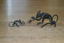 KASLI CAST IRON Figurine Sculpture Statue BIG and SMALL DEVILS