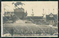 Torino città Savoia Inaugurazione ABRASA Sciutto foto cartolina XB4010