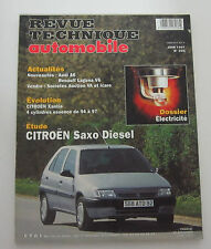 Revue technique automobile RTA 596 Citroen saxo diesel