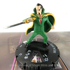 Batman the Animated Series ~ RA'S AL GHUL #034 HeroClix rare miniature #34