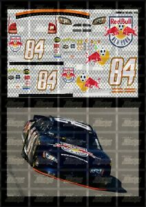 NASCAR 1/24 DECALS AJA01 - AJ ALLMENDINGER 2006 CUP #84 REDBULL NEW YORK