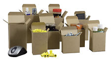 """1000  1.5"""" x 1.5"""" x 4"""" Kraft Reverse Tuck  Cartons  for Parts, Gifts, Fasteners"""