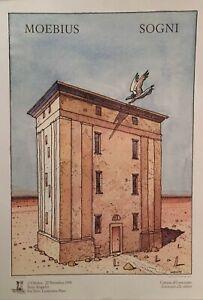 """Moebius - Manifesto """"Sogni"""" accompagnato da """"Una vacanza a Stromboli"""""""