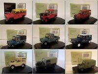Land Rover Models Oxford Diecast 1/76 (One Postage Buy all you want)