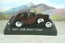 1:43 Solido  Rolls Royce Coupe  4071 display model