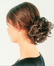 HAARGUMMI -KERSTIN- GRAU- Silberblond Zopfgummi Haarteil -LESEN- (B157) BEL HAIR