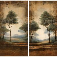 WOODLAND MEADOW I (20x38) and II (20x38) SET by JOEL HOLSINGER 2PC CANVAS