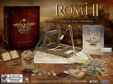 Total War Rome II Collectors Edition by Creative Assembly, 2013, Sealed