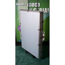 Valigia poker in alluminio con trolley  fino a 1000 chips - fiches Texas hold'em
