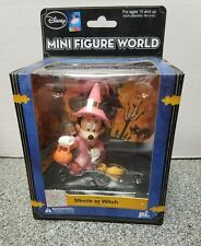 Disney Minnie Mouse As Witch Mini Figure World 2 Silver Foil Stickers Play Imag