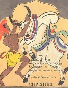 Christie's Catalogue The Art of Nandalal Bose  2013 HB