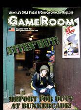 GameRoom Magazine Bunkercade Drew Biordi Pat Lawlor July 2005