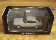 Minichamps - Ford Capri MkIII 3.0S, Ice Grey 1982 - Ltd.Ed. 1008 -1/43 NEW