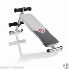 Universal by Nautilus Decline Bench Sit Up Exercise Ab Crunch Board