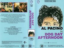 DOG DAY AFTERNOON - Al Pacino  VHS -PAL -NEW -Never played! -Original Oz release