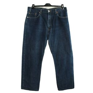 Levi Strauss & Co 505 Jeans Hommes Taille W38 L29 Standard Coupe Classique Droit