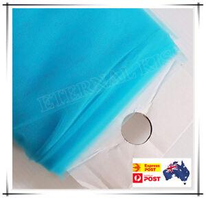 """NEW Soft Wedding Tulle Bolt 54""""inch x 40yd(1.4m x 36m) - Aqua Frozen"""