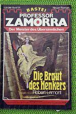 Professor Zamorra Nr. 26, Erstdruck, Die Braut des Henkers, Zustand: 3-