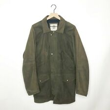 VTG Banana Republic Suede Leather Jacket 90s Outdoor Travel Safari Clothing M/L