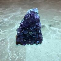 Amethyst Druze Crystal Cluster With Cut Base ~ Small Specimen - Very Nice