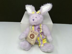 "Boyds Bears Longaberger Exclusive Easter - April Hopsalot - 8"""