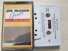 JIM McCANN GRACE & OTHER IRISH LOVE SONGS CASSETTE LUNAR RECORDS IRELAND TESTED.