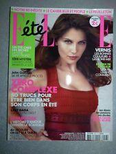 Magazine mode fashion ELLE french #3418 1er juillet 2011 Laetitia Casta