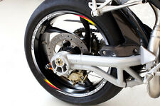 EVOTECH Adhésifs Bandes Roue Drapeaux Flags Espagne Spanish Wheel Stickers