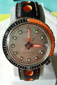 Uhren  Vintage Junghans electronic Dato Chrono  Taucher