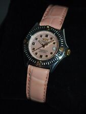 Breitling Callistino rosa pink Stahl Gold Damen Lady