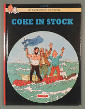 Tintin en Italien Coke en Stock Herge editions Comic Art