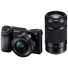 Sony Alpha A6000 Ilce-6000y (B) sans Miroir Caméra Double Objectif de Zoom Kit