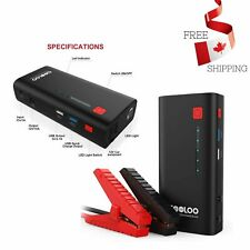 Upgraded Car Jump Starter Auto Battery Booster 800A Peak 18000mAh