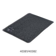 Trixie Cat Litter Tray Mat PVC Anthracite Rectangle 40cmx60cm Clean Non-Slip