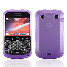 For Blackberry Bold 9930 9900 HARD Case Snap on Phone Cover Rubberized Purple