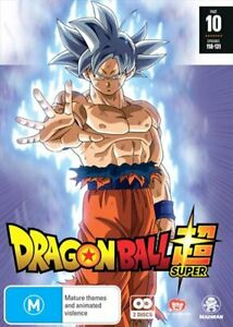 Dragon Ball Super - Part 10 - Eps 118-131 DVD