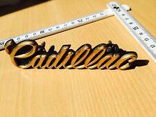 Cadillac Fleetwood Brougham DeVille Ornament Emblem Grill Schriftzug 1977 - 1991